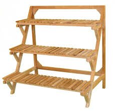 Farmhouse antique cheap prices sales OEM service wooden flower display stand