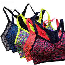 5 Pack Sports Bra Gym wear Fitness Top Stretch Seamless Yoga Bra