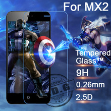 0.26mm 9H Explosion Proof Anti scratch LCD Tempered Glass Film For Meizu MX2 MX3 MX4 MX4 Pro M2 Mini Screen Protector Film