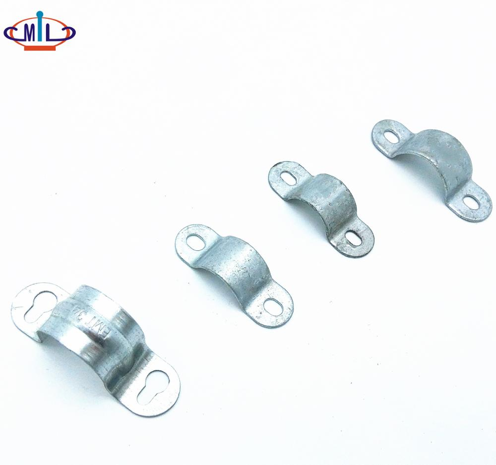 GI Pipe Fittings Steel Pipe Clip Saddles