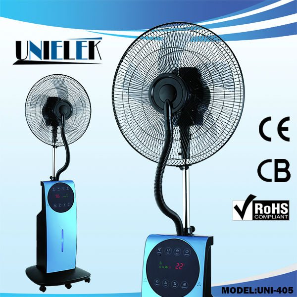 Wholesale High Quality Air Cooling Summer And Winter: Unielek Humidifier Misting Centrifugal Mist Fan Price Ions