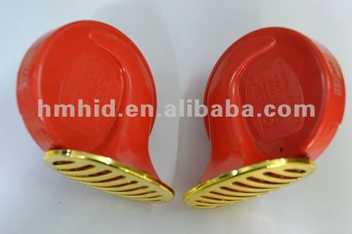 High qualty Automobile Snail Horn HM-1202E (Red)