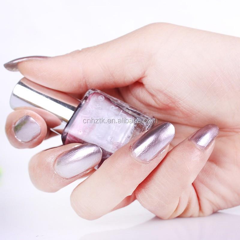 Espejo Metálico Efecto Pigmento Para Uñas/plata Espejo Efecto ...