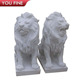 Stone marble large lion statue for sale