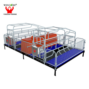 High quality pig farming equipment farrowing crate