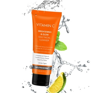 Recommend Hyaluronic Acid Vitamin C Washes Cleansing Lotion Organic Facial Wash Tubes