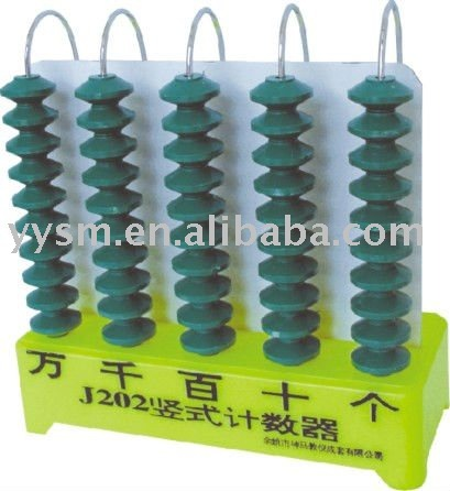 Plastic counter for teacher(teaching instrument)