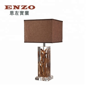 Factory Supply High Quality Tree Root Furniture Table Lamp Modern