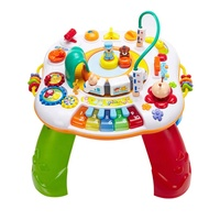 Wholesale Children Educational Musical Toy Kids Learning Activity Table Baby