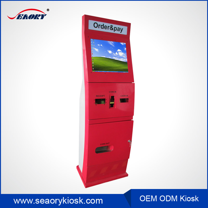 mobile accessories vending machine / self-service touch screen kiosk/China supplier