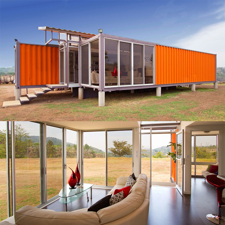 40 Feet Container Homes: China Supply 20 40 Feet Prefab Shipping Container Home