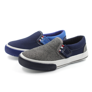 041a7f0874 blue canvas kids shoes slip on boys shoes wenzhou children casual shoes