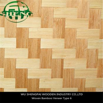 Laminated Woven Bamboo Wood Veneer Sheets For Furniturewalllongboard Paper Thin Face Skins Buy Bamboo Veneerwoven Bamboo Veneerwoven Bamboo