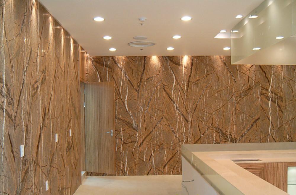 Impermeable material insonoro imitaci n piedra revestimiento para paredes interiores tapices - Revestimiento paredes imitacion piedra ...