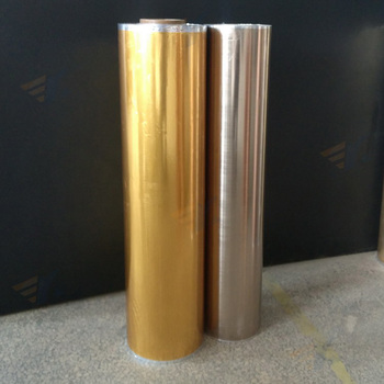 Custom Made Gold Silver Color Heat Transfer Printing Film For WPC