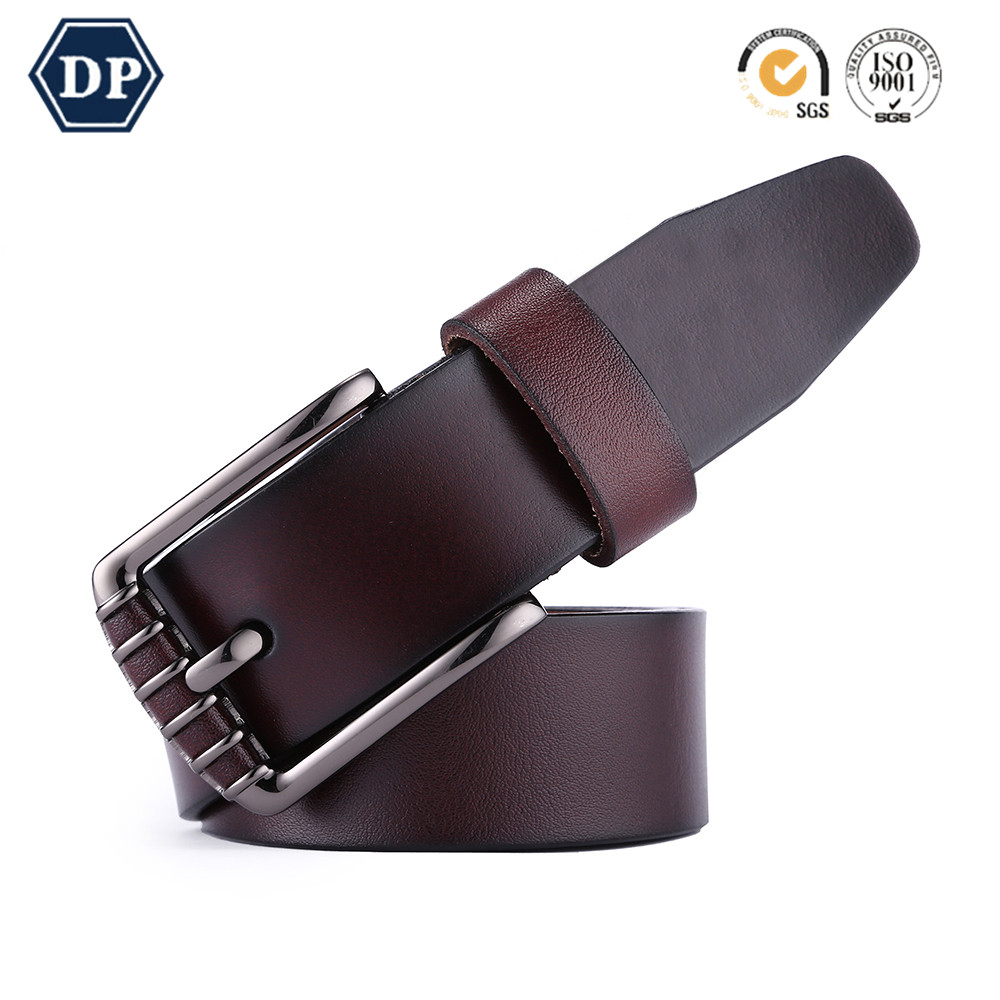 Dp024 2 Best Quality Low Price Custom Mens Casual Genuine Leather