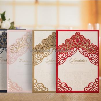 Wishmade fresh laser cut vintage wedding invitation paper card with wishmade fresh laser cut vintage wedding invitation paper card with envelope cw6072 stopboris Image collections