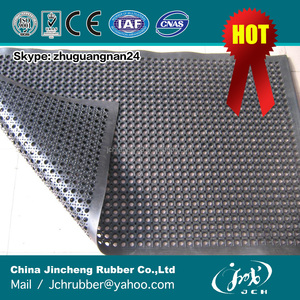 abrasion resistant shock proof rubber mat manufacturer