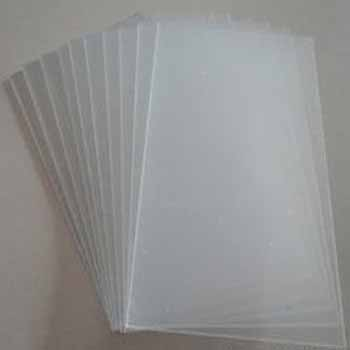 2mm 100% PS virgin material extruded plastic transparent film PS sheet for printing