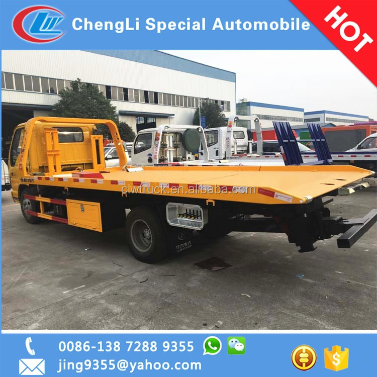 New Style Flatbed Tow Truck Dimensions Wrecker In Laos