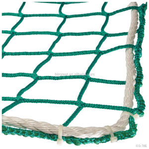100% new High tenacity PP(polypropylene) SAFE NET/SAFETY NET/KNOTLESS SAFETY NET