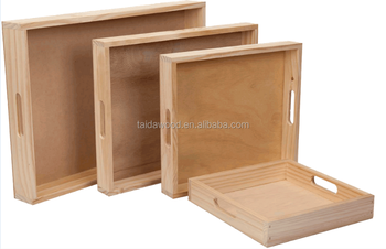Customized Wooden Box Without Lids Fruit Crates For Sale