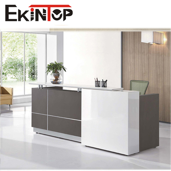 Modern Office Reception Desk Portable Office Counter Table