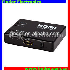High Speed 3x1 HDMI Switch 3 Input 1 Output Full HD Vedio Converter HDMI Switcher
