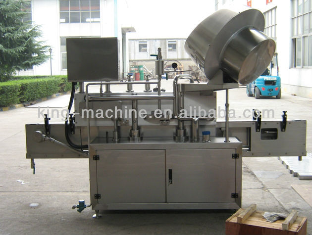 Lug cap twist cap seaming machine