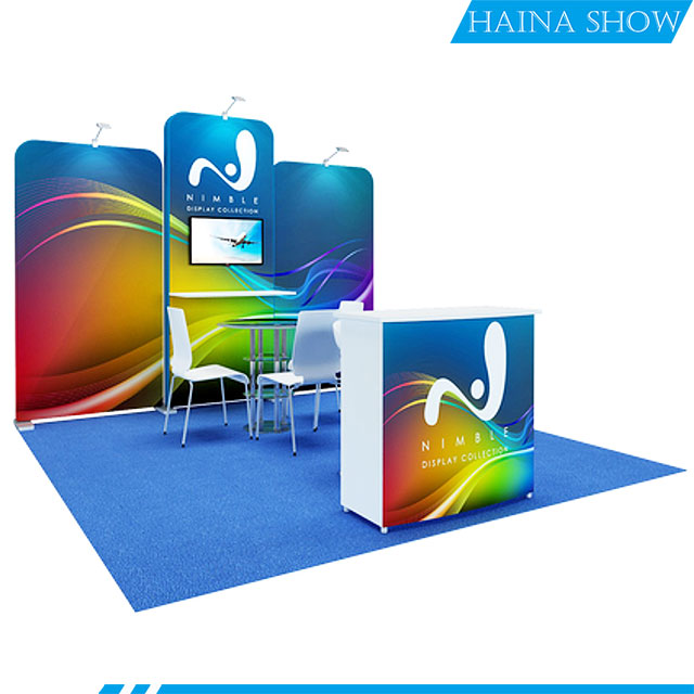 custom Trade Show <strong>Stand</strong> 10X20ft Customized Design Exhibition <strong>Booth</strong>