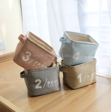 High Quality square linen storage organizers