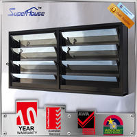 The master style reflective gray tinted glass plantation shutters australia