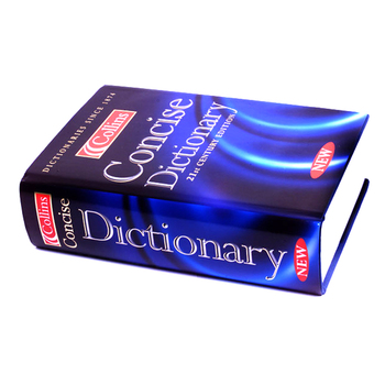 Custom Rich Experience in Printing Dictionary English English