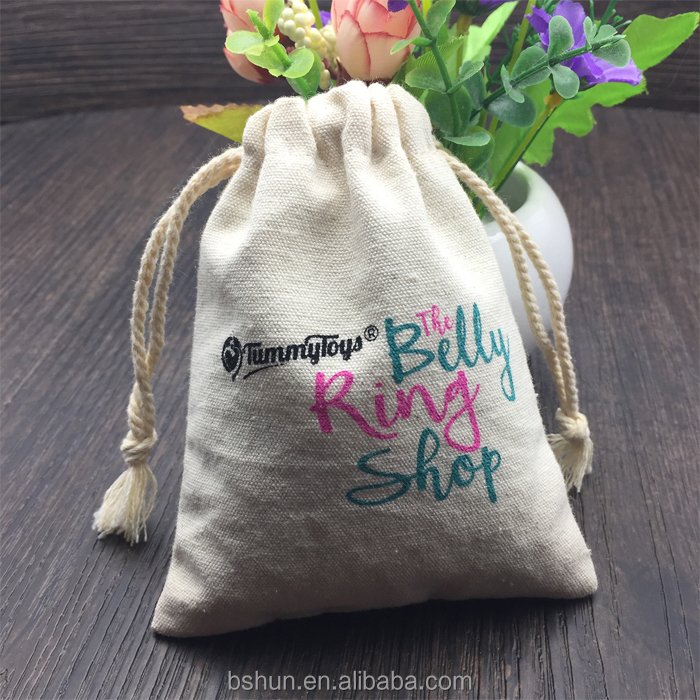 Custom Canvas Jewelry Gift Pouch, Perfect for Birthday Party, Christmas Gift