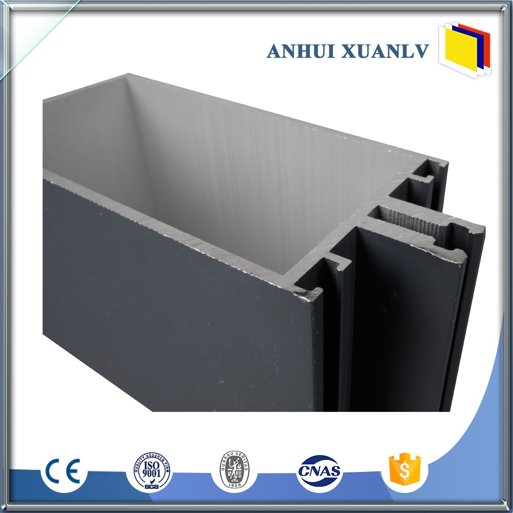 aluminium alu in window and door screen alu in system extrusion profile