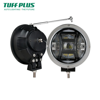 70W 9 inch round Emark led driving light for boat truck Jeep