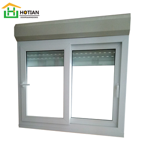 2016 Aluminium Roller Shutter Windows with Handle and Automatic Australian Standard Aluminum Window