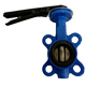China Supplier Ductile Iron Cast Iron PN10 PN 16 Lug Wafer 6 Inch Butterfly Valve for Water Supply System