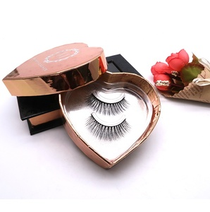 Worldbeauty Private Label Eyelash Box Best False UK 3D Silk Lashes