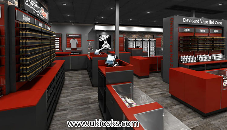 Electronic cigarette retail store