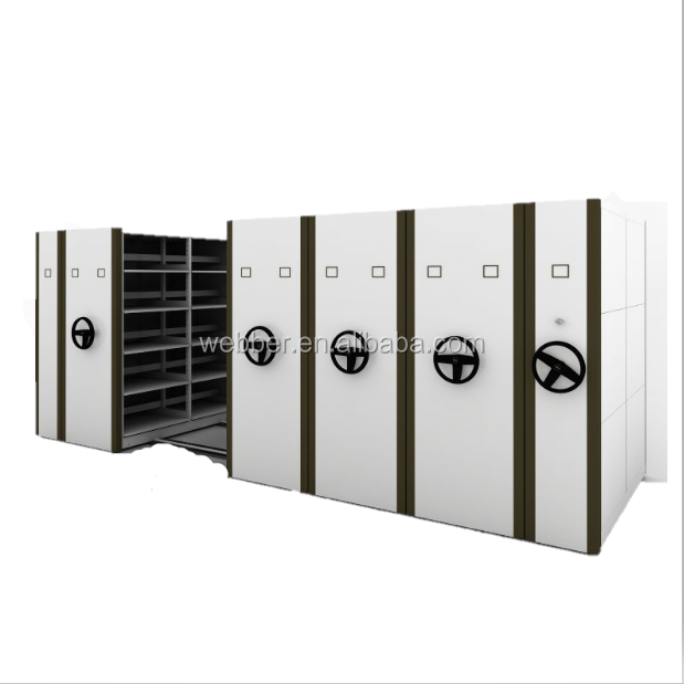 Steel Commercial Furniture warehouse mobile shelving , Metal Warehouse <strong>Cabinet</strong>