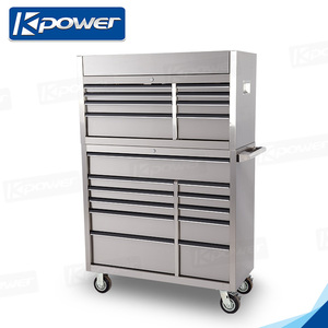 41 Inch 11 Drawers Tool Cabinet Combo With Two Keys