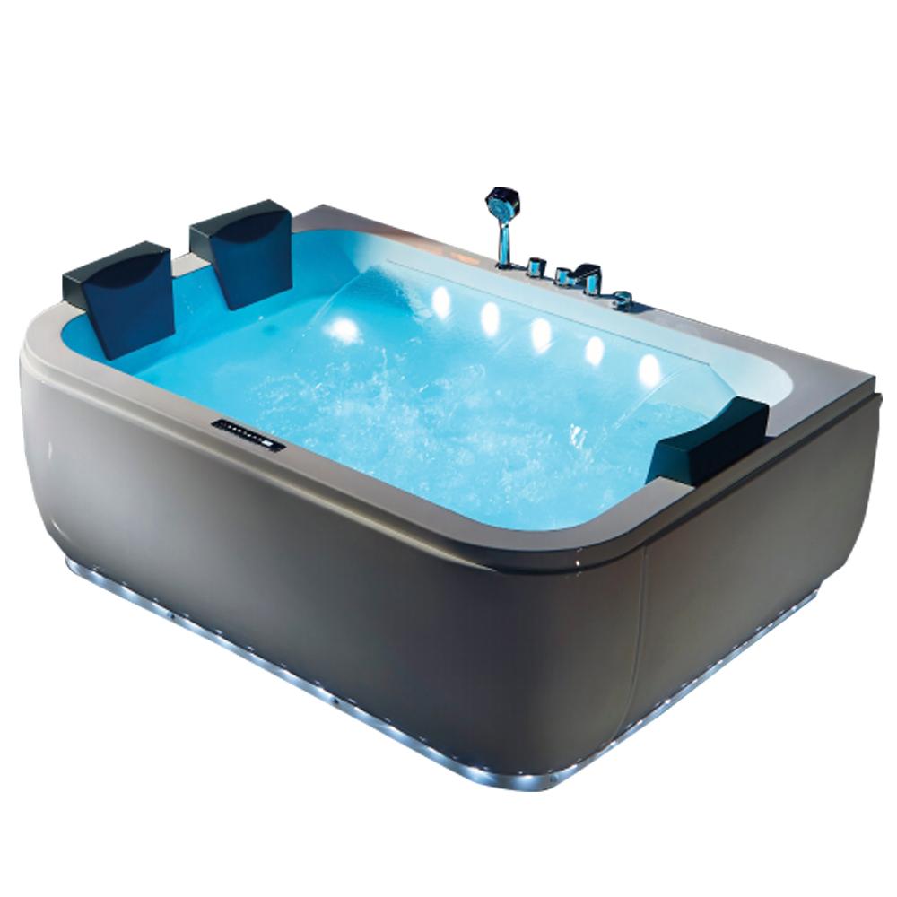 Hs-b1831 Fiberglass Tub/ High Back Bathtub/ Mat White Bathtub - Buy ...