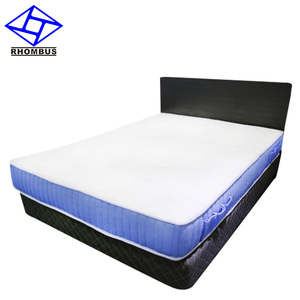 King Bed Pocket Spring Natural Latex Diamond Mattress Prices 2009