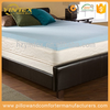 High Density easy care spring massage healthy portable wholesale memory foam mattress topper for hotel hospital