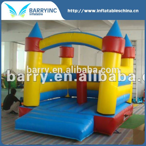 China professional kids jumping inflatable bouncer , mini inflatable bounct castle