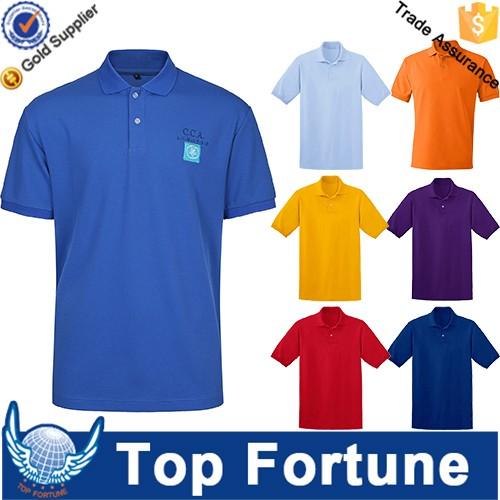 OEM golf polo shirt for men professional manufacturer