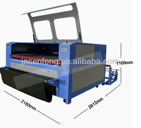 SF1610SC china laser leather sole making machine