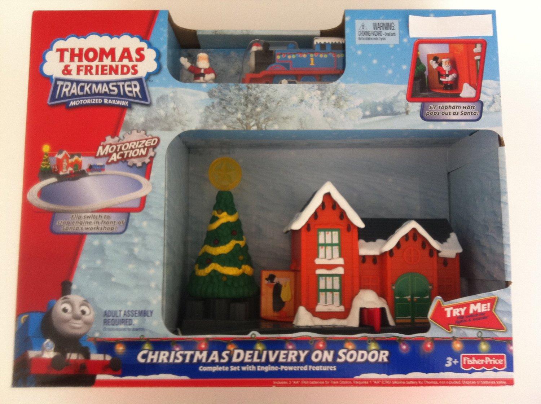 Thomas The Train Christmas Set.Buy Nyag Thomas Christmas Delivery Set In Cheap Price On