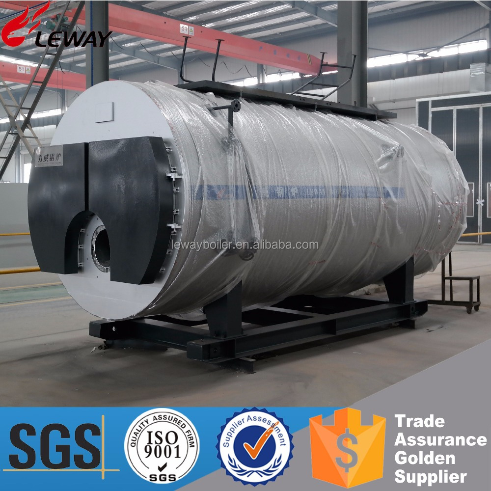 Industry Use WNS6-1.25-Y(Q) 6000 KG Industrial Diesel Oil Boiler For Steam or Hot Water Supply